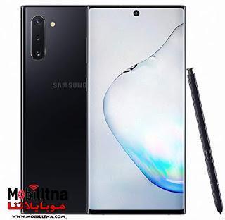 سعر ومواصفات سامسونج نوت Samsung Galaxy Note 10 مميزات وعيوب