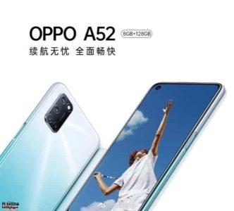 Photo of Oppo اعلنت رسمياً عن هاتفها OPPO A52 ببطارية 5000 mAh وبسعر 226 دولار