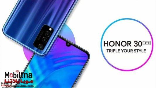 Photo of الإعلان الرسمي عن هاتف Honor 30 Lite بمعدل تحديث 90Hz وسعر يبدأ من 240 دولار